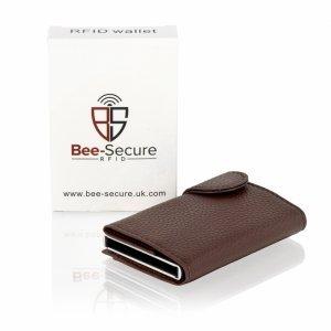 Brown RFID Card Wallet