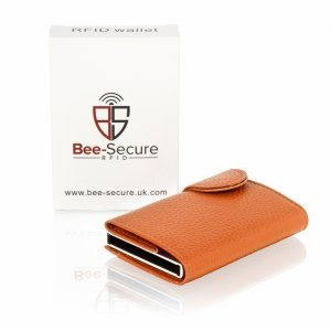 RFID Tan Card Wallet
